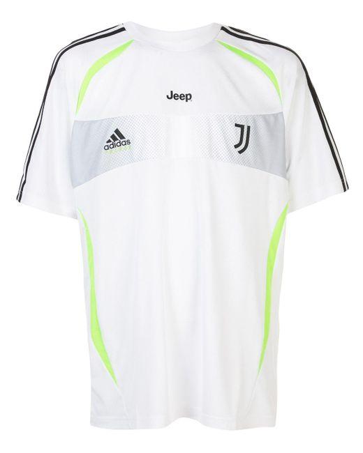 メンズ Palace X Juventus X Adidas Tシャツ White