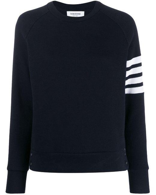 Thom Browne 4bar スウェットシャツ Blue