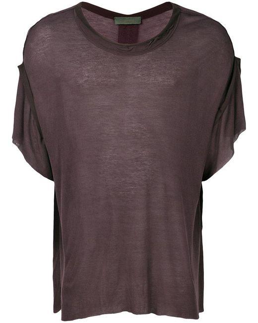 Di Liborio - Purple Oversized T-shirt - Lyst