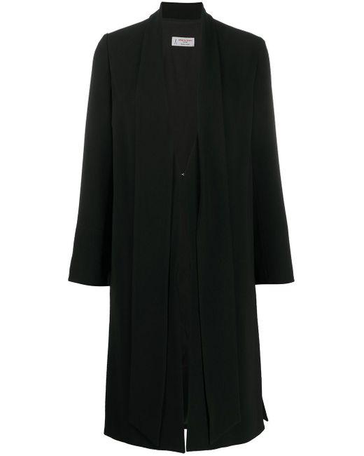 Alberto Biani レイヤード コート Black