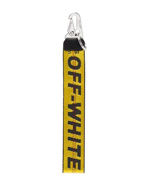 Брелок С Логотипом Off-White c/o Virgil Abloh для него, цвет: Multicolor