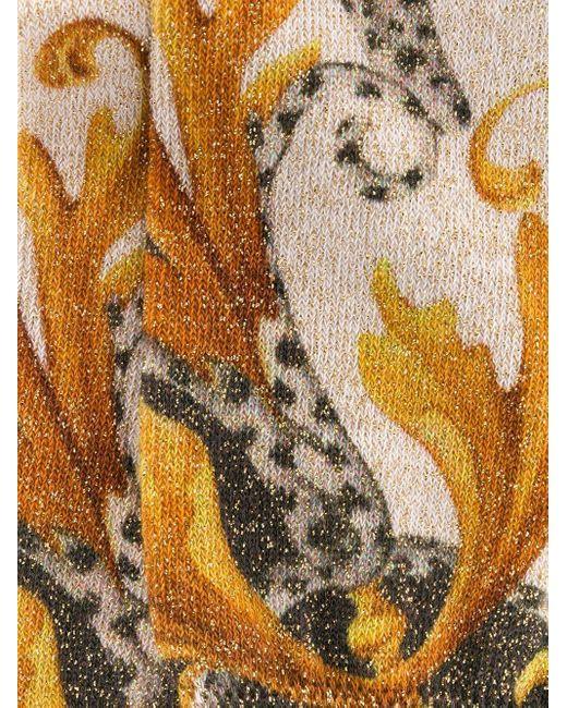 Носки С Принтом Versace, цвет: Multicolor