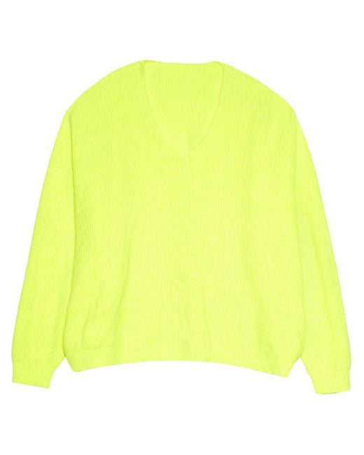 Apparis Vネックセーター Yellow