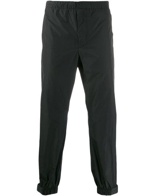 メンズ Prada テクニカル ジョガーパンツ Black
