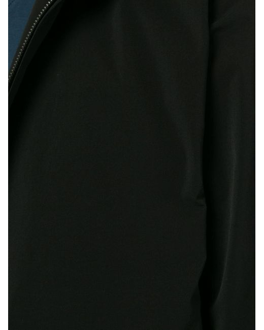 メンズ Attachment ジップアップ パーカー Black