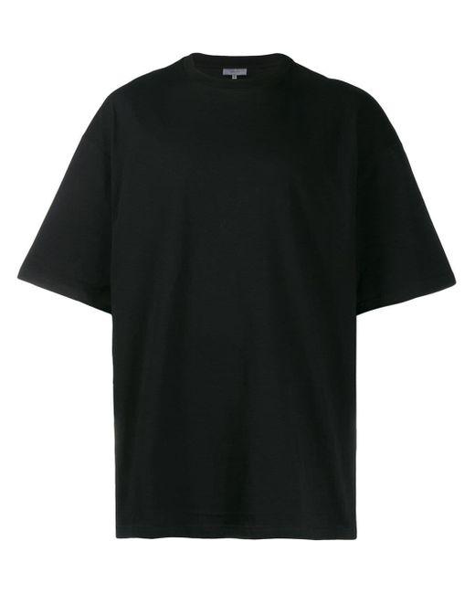 メンズ Lanvin ロゴ プリント Tシャツ Black
