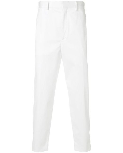 Neil Barrett - White Slim Trousers for Men - Lyst