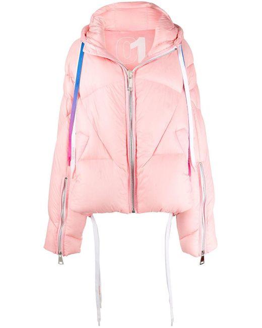 Khrisjoy パデッドジャケット Pink