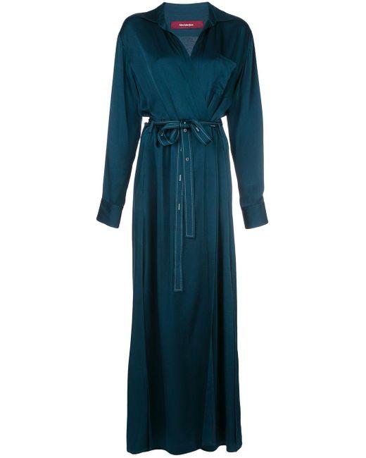 Sies Marjan Aviva ラップドレス Blue