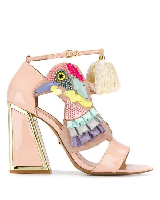 Sandals Lyst Kat Studded Maconie Heeled Bird Multi dhCtQrs