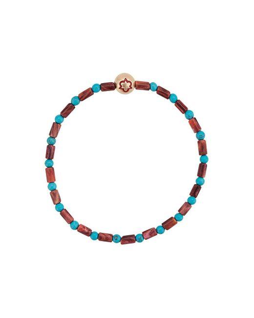 Luis Morais Blue Trinity Enameled Bracelet