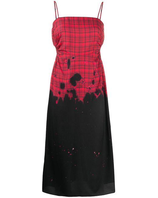 ROKH アイレット ドレス Red