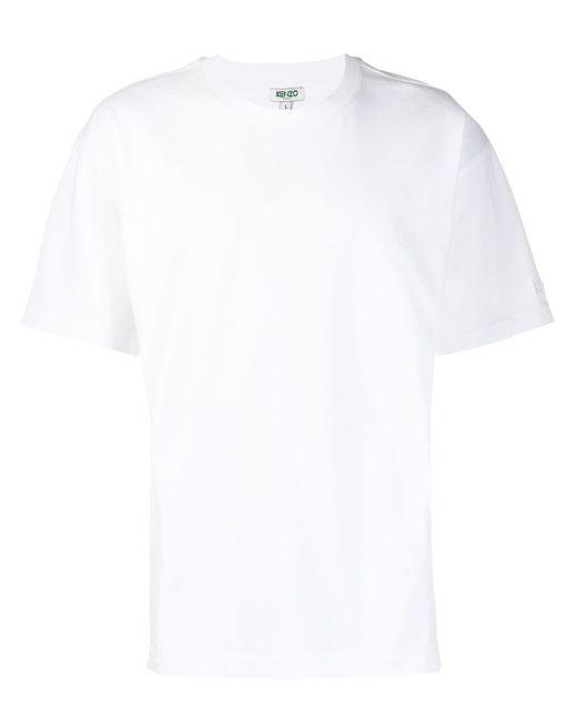 メンズ KENZO ショートスリーブ Tシャツ White