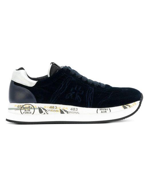 Premiata | Blue Conny 2583 Sneakers for Men | Lyst
