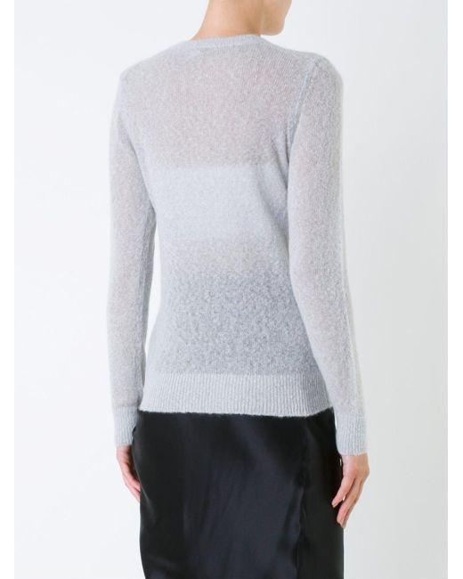 Michael Kors シアーデザイン セーター Multicolor