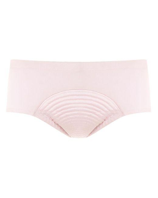Costume da bagno con design a pannelli di Amir Slama in Pink da Uomo