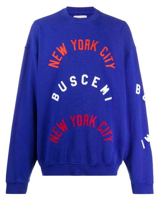 メンズ Buscemi Nyc スウェットシャツ Blue
