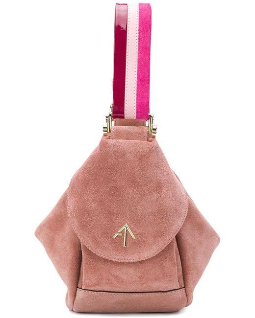 MANU Atelier - Pink Micro Fernweh Tote - Lyst