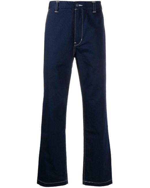 メンズ Levi's ステッチディテール パンツ Blue