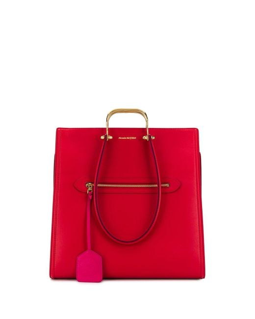 Alexander McQueen The Tall Story ハンドバッグ Red