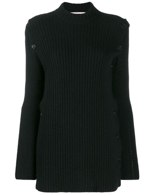 Marni サイドスリット セーター Black