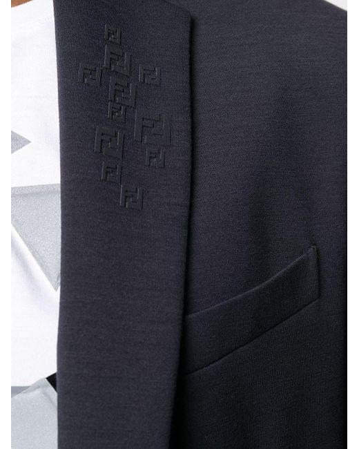 メンズ Fendi シングルジャケット Blue