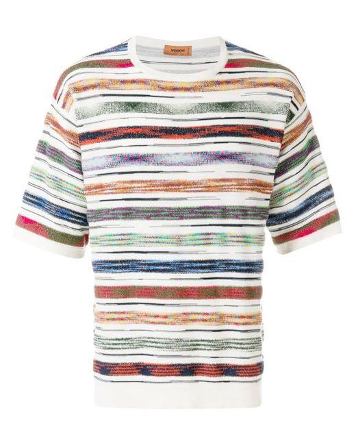 メンズ Missoni ボーダー Tシャツ Multicolor