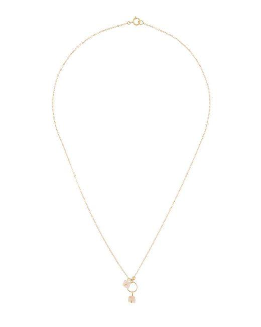 Petite Grand Gemstone ネックレス Metallic