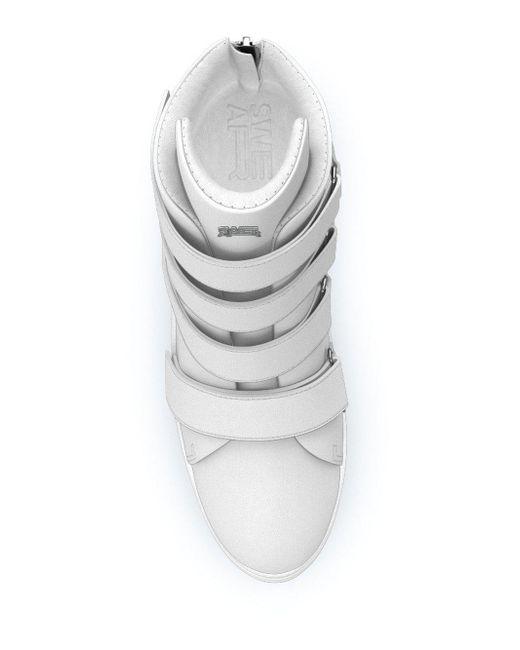 Jure Baskets Salut-top Obligations - Blanc I5GaavXb