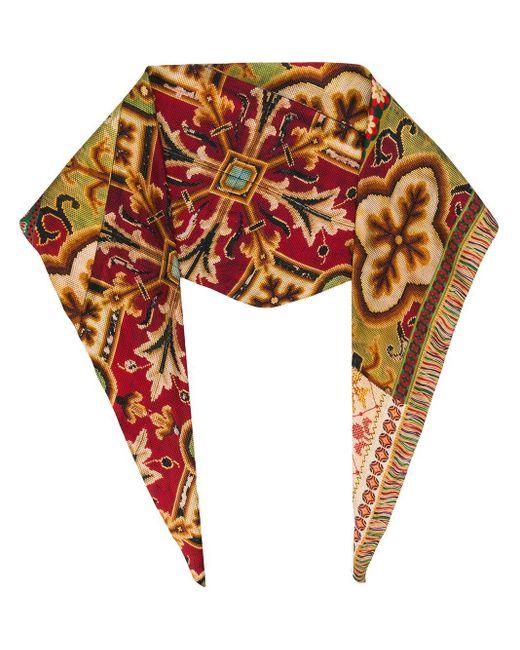 Pañuelo tejido Pierre Louis Mascia de color Multicolor