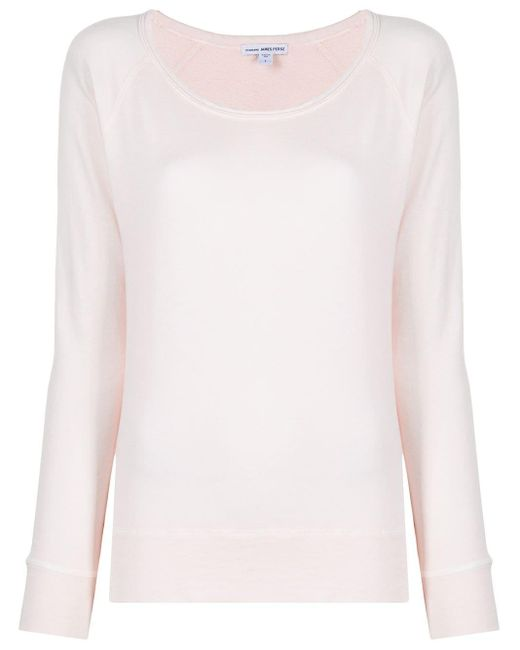 James Perse ロングスリーブ トップ Pink