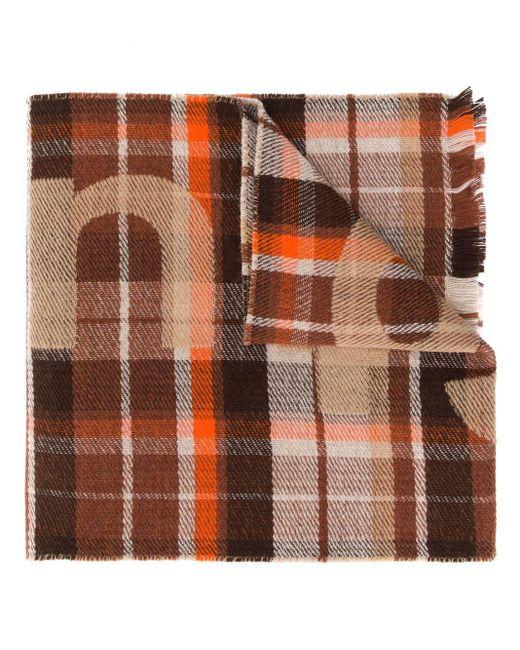 Acne チェック スカーフ Multicolor