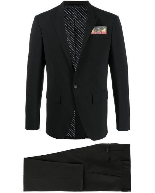 メンズ DSquared² ポケットチーフ スーツ Black
