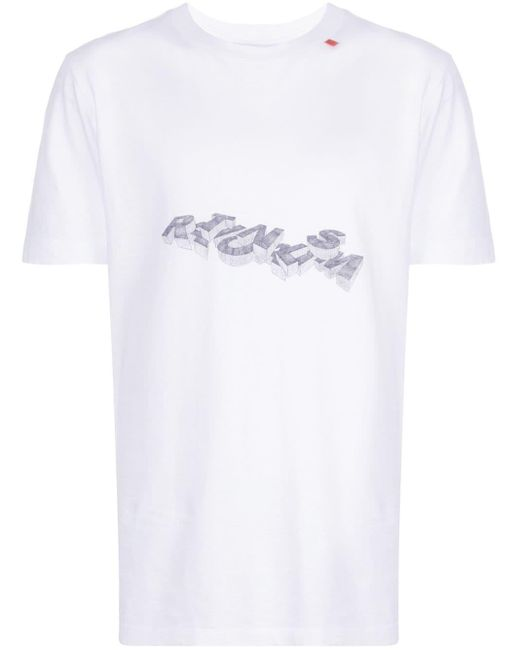 メンズ Off-White c/o Virgil Abloh Rationalism Tシャツ White