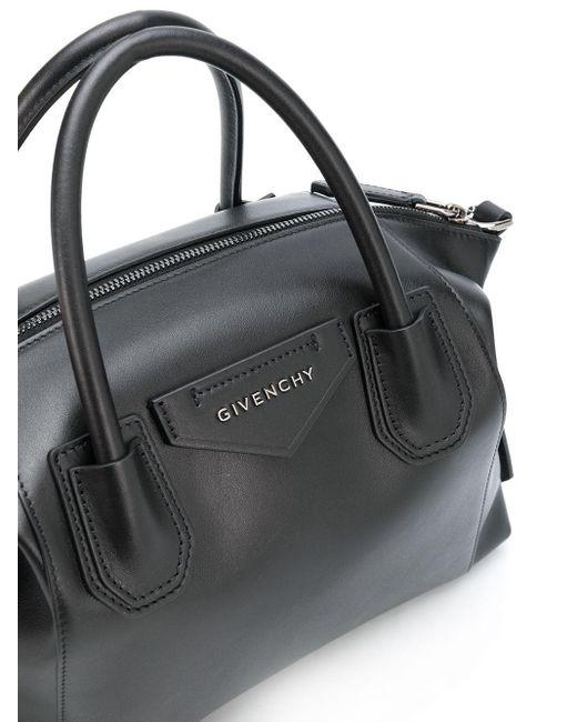 Маленькая Сумка-тоут Antigona Givenchy, цвет: Black