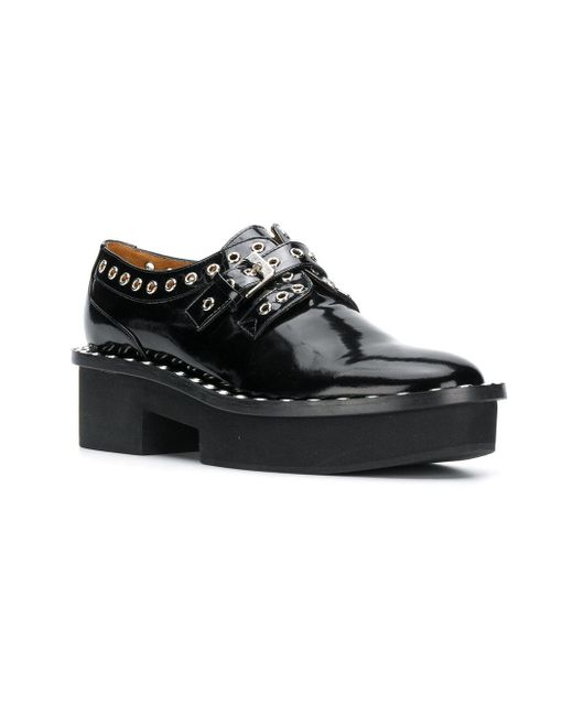 outlet factory outlet Clergerie Bridget eyelet-embellished derbies amazon online get authentic cheap price store cheap online ShR2RKpOZ