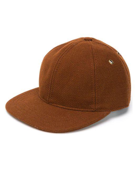 メンズ AMI Ami Patch Baseball Cap Brown