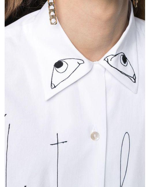 Antonio Marras ボタン シャツ White