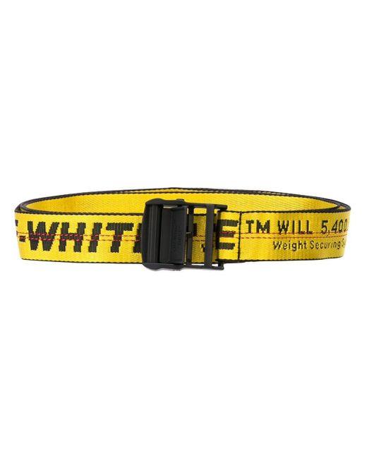 Off-White c/o Virgil Abloh Yellow Mini Industrial Bag