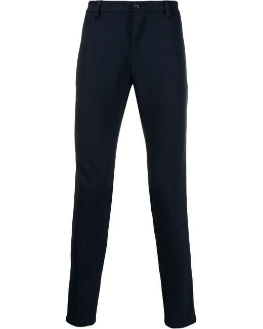 メンズ Dolce & Gabbana サイドストライプ テーラードパンツ Blue