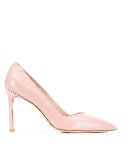 Туфли-лодочки Anny 95 Stuart Weitzman, цвет: Pink