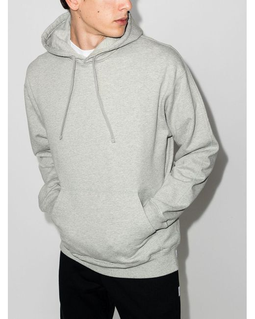 Reigning Champ Gray Relaxed-fit Cotton Hoodie for men