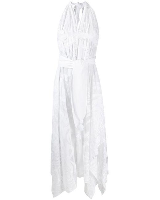 Emilio Pucci ホルターネック ドレス White