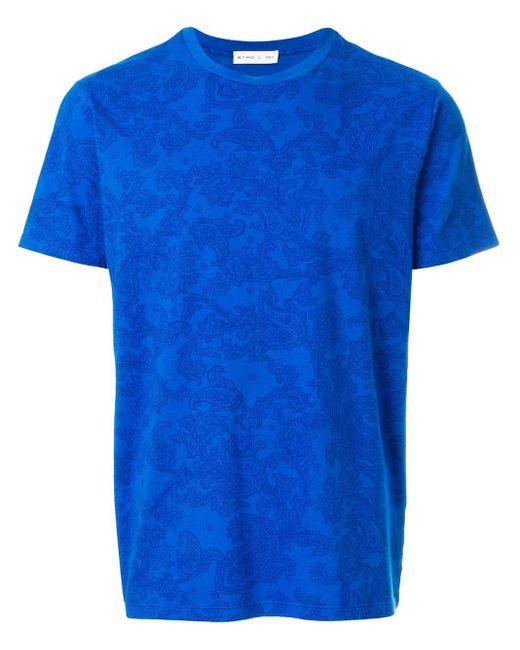 メンズ Etro プリント Tシャツ Blue