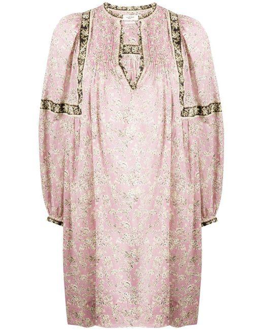 Étoile Isabel Marant Virgine バルーンスリーブ ドレス Pink