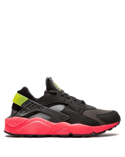 Nike Black Air Huarache Sneakers for men