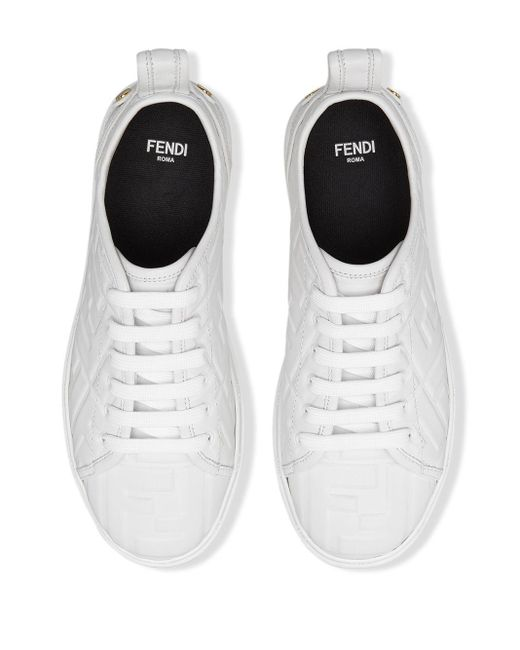 Fendi モノグラム スニーカー White