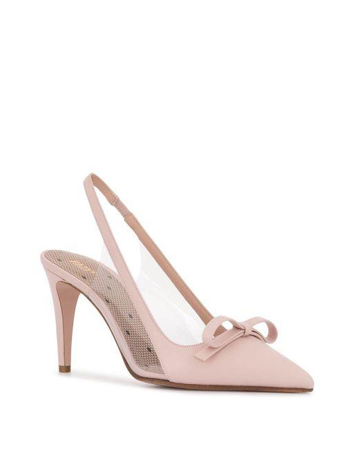 RED Valentino リボンディテール パンプス Pink