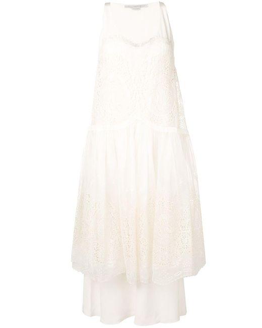 Stella McCartney Brianna ドレス White