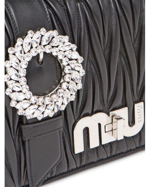 Miu Miu Black Klassische Umhängetasche
